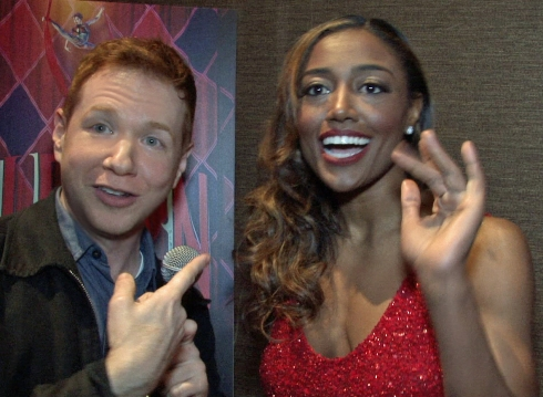VIDEO: Ken interviews Patina Miller earlier in the evening.
